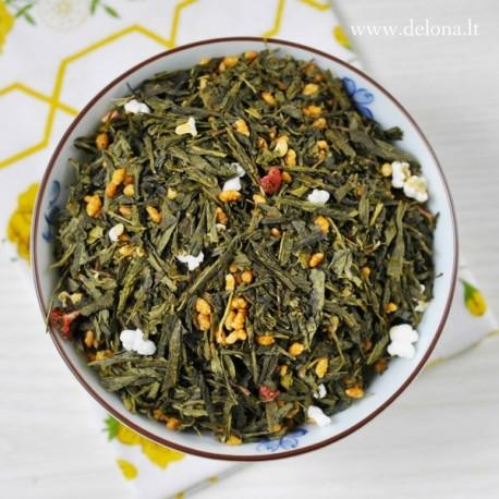 """Žalioji arbata """"UGNINĖ SAULĖ"""" 100g"""