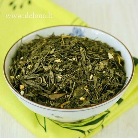 """Žalioji arbata """"CITRINA SU IMBIERU"""" 100g"""
