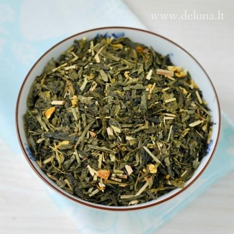 """Žalioji arbata """"CITRINA SU ŽENŠENIU"""" 100g"""