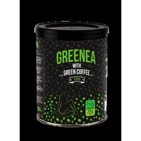 Greenea su žalia kava 250 g skardinėje