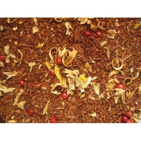 """Raudonoji arbata """"APELSINAS - IMBIERAS"""" 100g"""