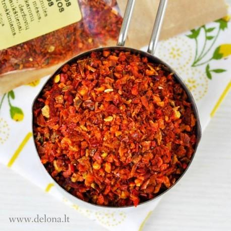 Saldžiosios raudonosios paprikos (dribsniai) 40g