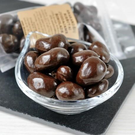 Anakardžių riešutai juodajame šokolade 100g