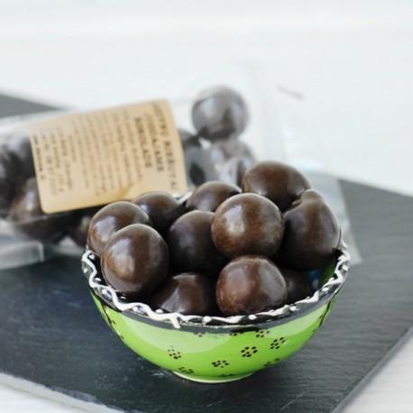 Lazdynų riešutai juodame šokolade 100g