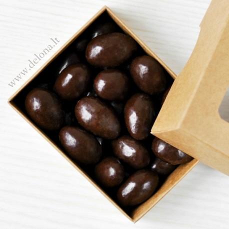 Migdolai juodajame šokolade 120g
