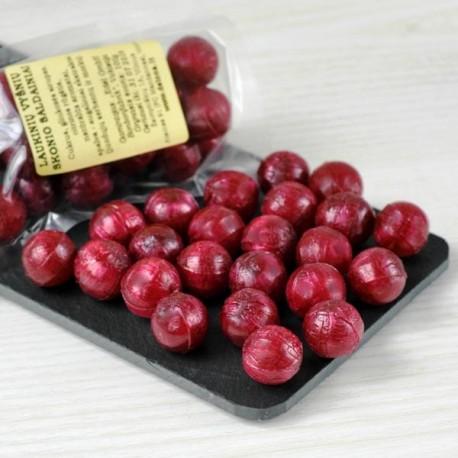 Laukinių vyšnių skonio saldainiai 100g